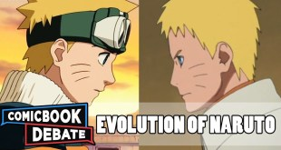 Evolution of Naruto in Anime in 16 Minutes (2018)
