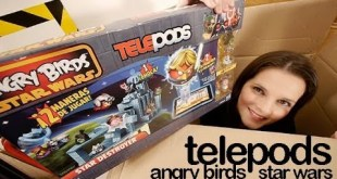 Hasbro Telepods unboxing review Angry Birds Star Wars