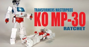 KO Takara Tomy MP-30 Autobot Ratchet Transformers Masterpiece figure
