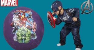 Marvel Giant Surprise Kinder Egg Toys Opening Avengers Spiderman Captain America Hulk CKN Toys