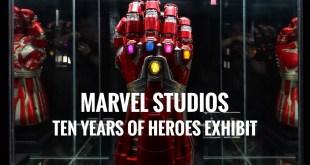Marvel Studios: Ten Years of Heroes Exhibition | Kuala Lumpur, Malaysia