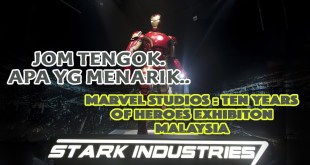 Marvel Studios : Ten Years of Heroes Exhibition Malaysia