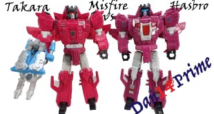Transformers Misfire Takara Legends vs Hasbro Titans Return