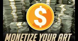 Monetize your art! (But only if you want to)