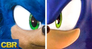 Movie Sonic Is Faster Than Video Game Sonic