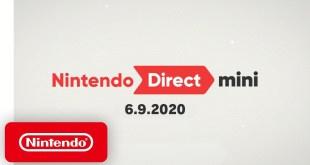 Nintendo Direct Mini 6.9.2020