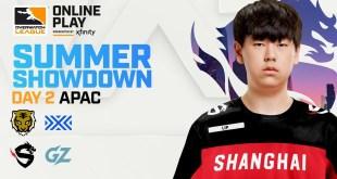 Overwatch League 2020 Season | Summer Showdown | APAC Day 2