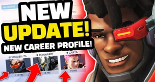 Overwatch NEW Career Profiles Update! - MOST PLAYED HEROES!