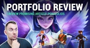 PROFESSIONAL ARTIST REVIEWS PORTFOLIOS #1
