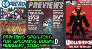 Previews Spotlight - What Comic Books to Buy for February 2020!!