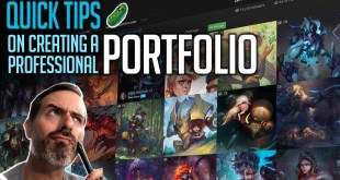Quick TIps | Creating a professional Portfolio for Illustration and Concept Art