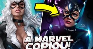 SUPER HEROIS QUE A MARVEL COPIOU DA DC COMICS