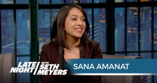 Sana Amanat Talks Ms. Marvel - Late Night with Seth Meyers