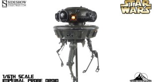 Sideshow Collectibles Star Wars 1/6th scale Imperial Probe Droid Video Review