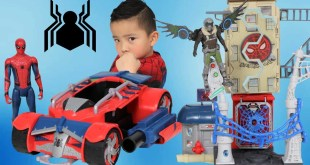 Spiderman Homecoming Toys Spider Racer & Marvel's Vulture Unboxing With Ckn Toys