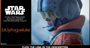 Star Wars TESB Sideshow Collectibles Luke Skywalker Snowspeeder Pilot 1/6 Scale Movie Figure Review