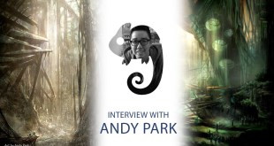 Superhero movie concept artist. Andy Park interview