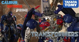 TLK-15 CALIBUR OPTIMUS PRIME || Transformers Takara Tomy TLK - 15 Calibur Optimus Prime Review
