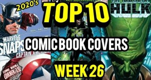 TOP 10 Comic Book Covers | Week 26 New Comic Books 6/24/20