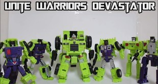 Takara Transformers Unite Warriors Devastator UW-04 Part 1