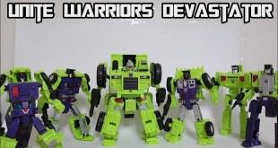 Takara Transformers Unite Warriors Devastator UW-04 Part 1
