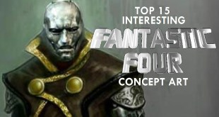 Top 15 Interesting Fantastic Four Concept Art