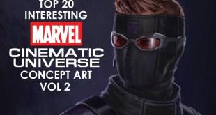 Top 20 Interesting MCU Concept Art Vol 2