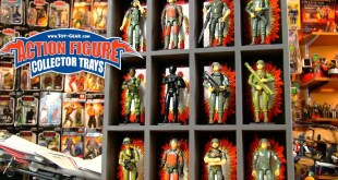 Toy-Gear Action Figure Collector Trays for G.I. Joe, Star Wars, He-Man & More!