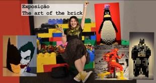 VLOG - Exposição The art of the brick - DC superheroes em LEGO