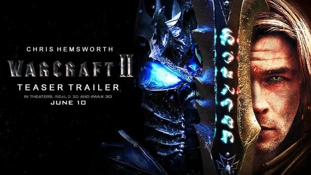 warcraft 2 movie Trailer Mashup/Concept Chris Hemsworth 2021