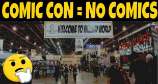 What is happening to Comic Con's? -This week in Comics- WEEKLY REVIEWS AND NEWS IN COMIC BOOKS
