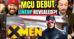 X-MEN MCU DEBUT LINEUP REVEALED? | REACTION!