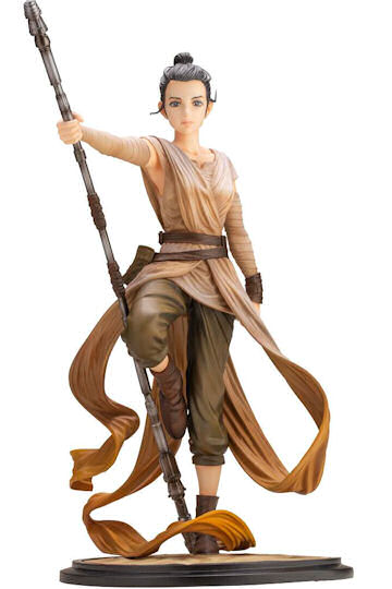 Star Wars ARTFX Rey Statue Kotobukiya Collectibles