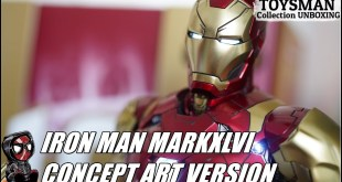【 MARVEL】HOTTOYS IRON MAN MARKXLVI CONCEPT ART VERSION