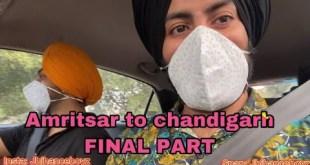 Amritsar to chandigarh FINAL PART | JBJHANCEBOYZ | Vlogs | funny videos