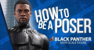 Black Panther Sixth Scale Figure by Hot Toys - How to be a Poser
