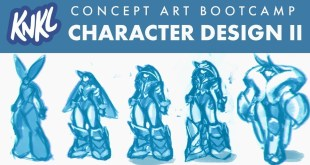 Concept Art BOOT CAMP 8: Character Design II (Designing a NEW character from scratch!)