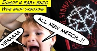Duhop WWE SHOP ALL NEW MERCHANDISE Unboxing Vlog