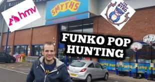 FUNKO POP hunting smyths, hmv,Nerdy Byrd