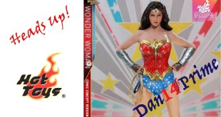 Heads Up! Hot Toys Comic Concept Version Wonder Woman - A Step Toward Classic?