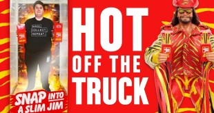 Hot Off The Truck! The Slim Jim Macho Man Returns!