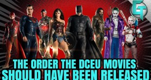 How The DCEU Movies Should Have Been Released - TC Does Comics