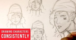 How To Draw Characters Consistently Looking The Same