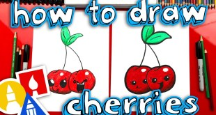 How To Draw Funny Cherries - Replay Live Draw Along!