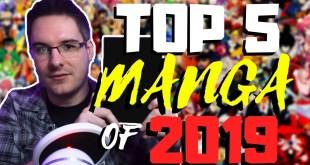 MY TOP 5 MANGA SERIES OF 2019!