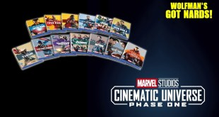 Marvel Cinematic Universe Complete Phase One Blu-ray Collectible Anniversary Slipcover Collection