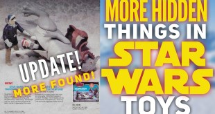 More Hidden Things In Star Wars Toys! AN UPDATE!