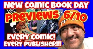 New Comic Book Day Previews June 10th 2020 Every New Comic Releasing and More NCBD Comics