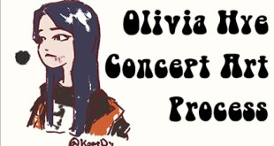 Olivia Hye Concept Art for comic