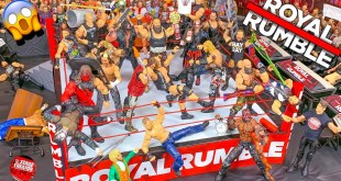 ROYAL RUMBLE WWE ACTION FIGURE MATCH! HARDCORE CHAMPIONSHIP!